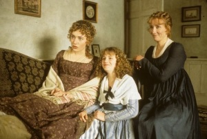 The Dashwood sisters from the 1995 Ang Lee movie based upon Jane Austen's Sense and Sensibility
